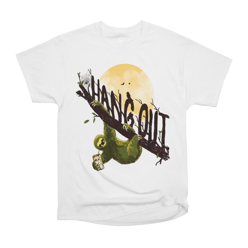 Let's Hangout Men's Heavyweight T-Shirt by nicebleed