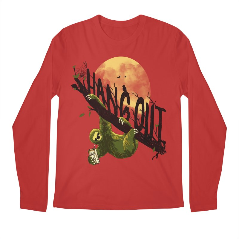 Let's Hangout Men's Regular Longsleeve T-Shirt by nicebleed