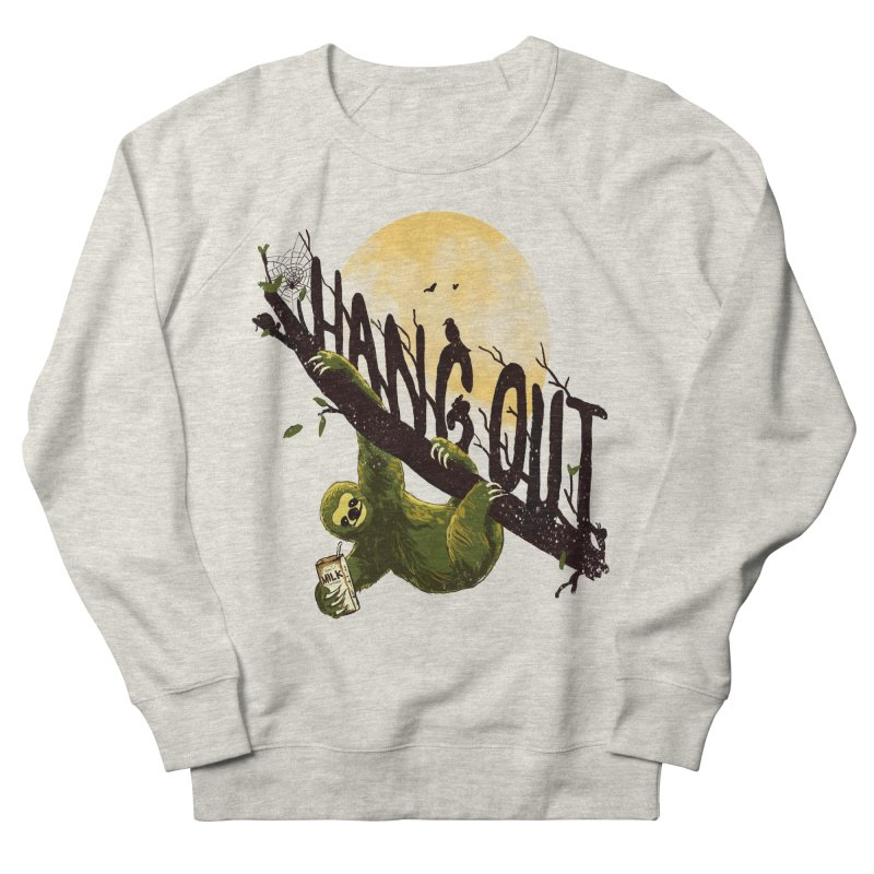Let's Hangout Women's French Terry Sweatshirt by nicebleed