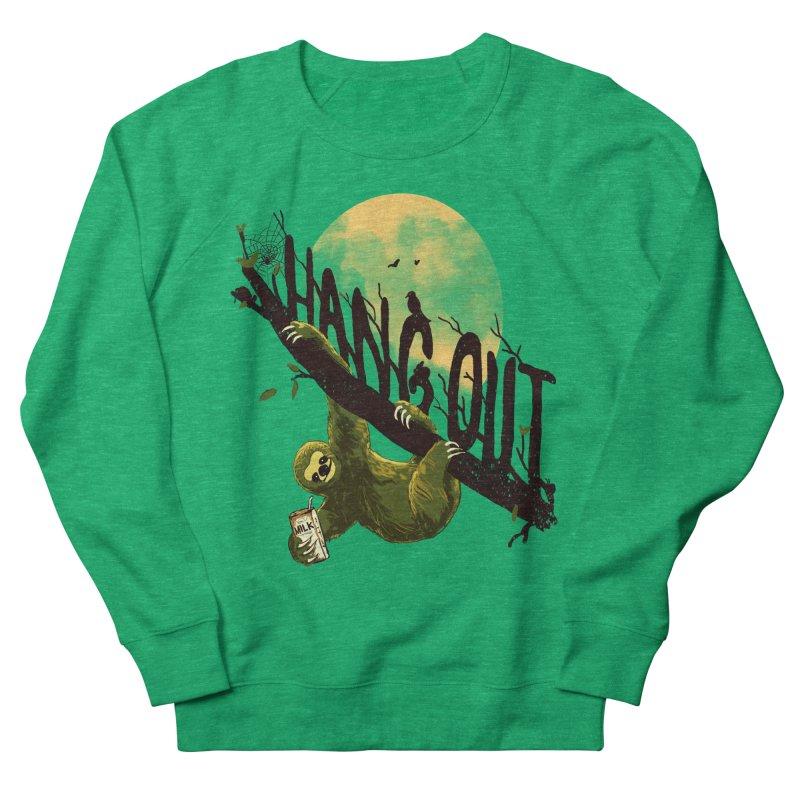 Let's Hangout Men's French Terry Sweatshirt by nicebleed