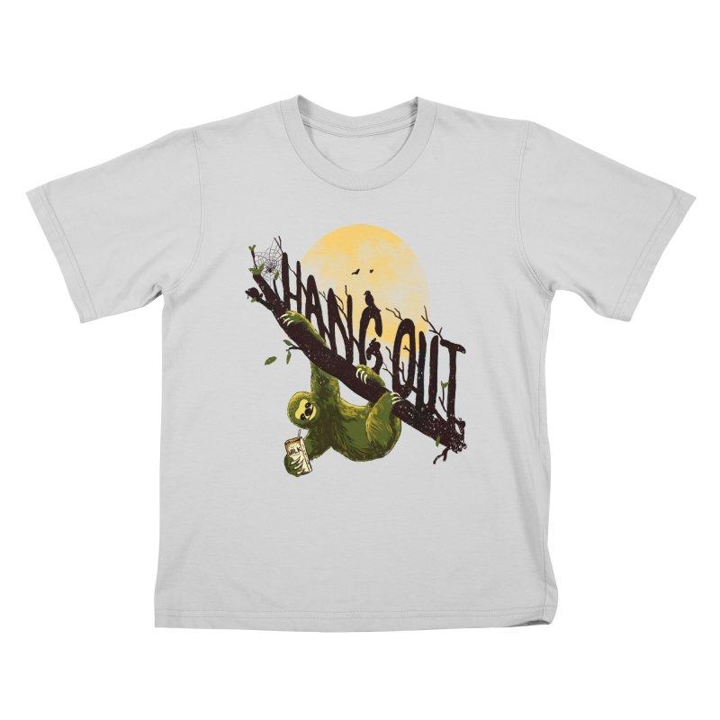 Let's Hangout Kids T-Shirt by nicebleed