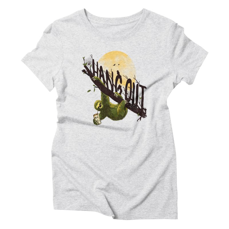 Let's Hangout Women's Triblend T-Shirt by nicebleed