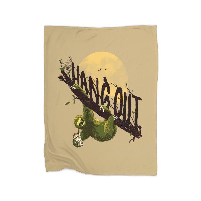 Let's Hangout Home Blanket by nicebleed