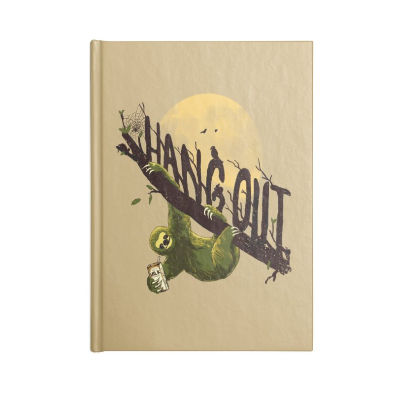 Let's Hangout Accessories Notebook by nicebleed