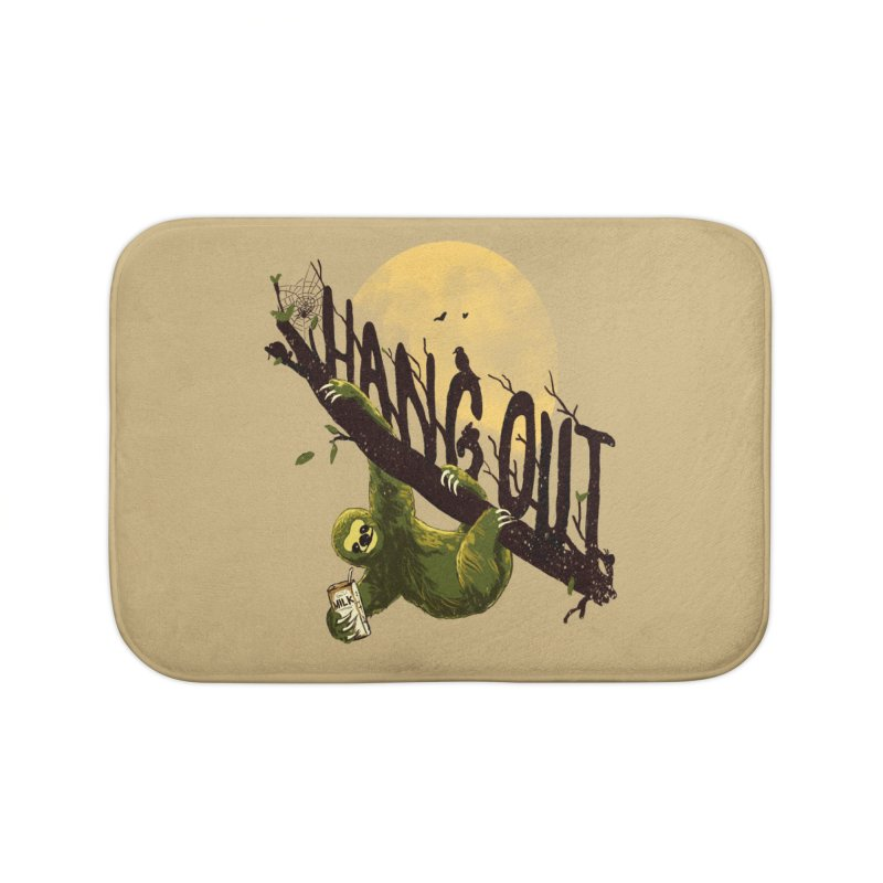 Let's Hangout Home Bath Mat by nicebleed