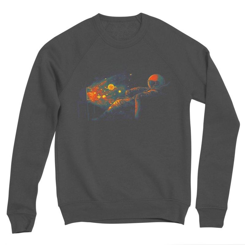 Cosmic Channel Women's Sponge Fleece Sweatshirt by nicebleed