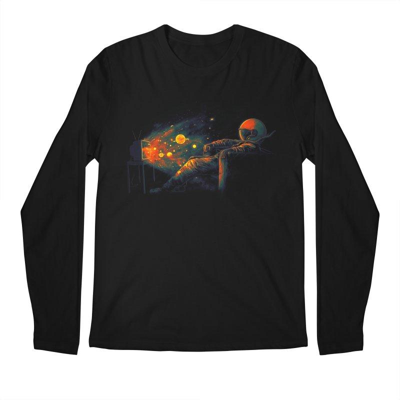 Cosmic Channel Men's Regular Longsleeve T-Shirt by nicebleed