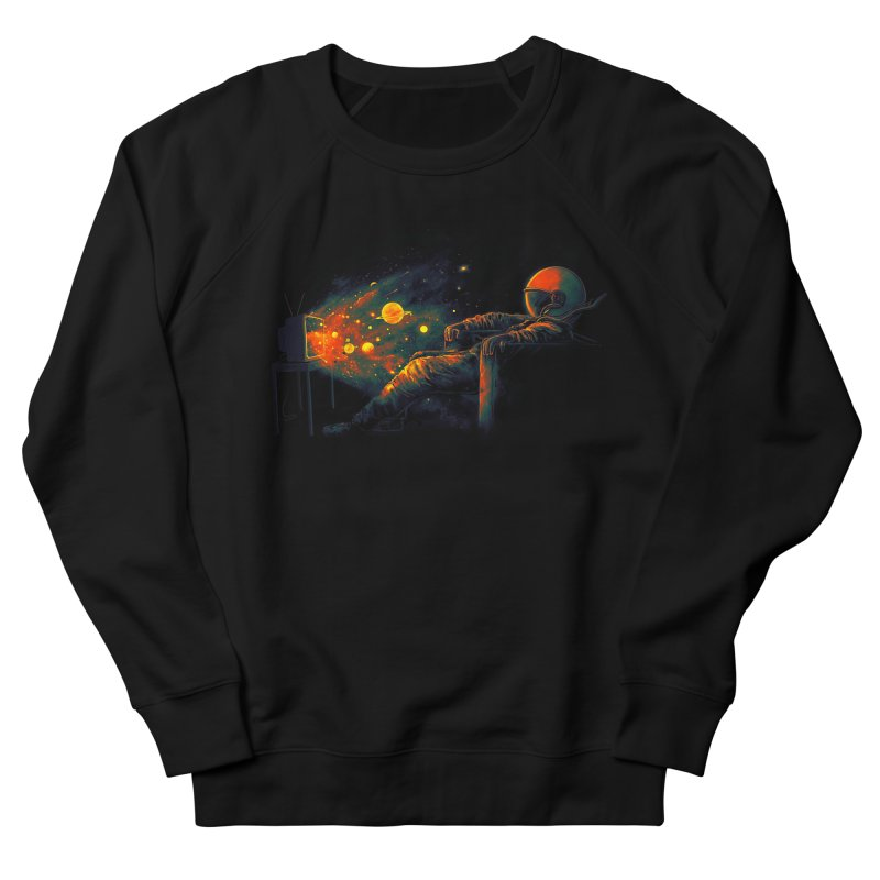 Cosmic Channel Women's French Terry Sweatshirt by nicebleed