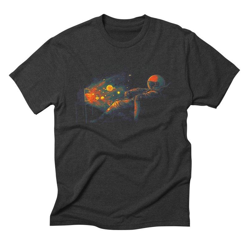 Cosmic Channel Men's Triblend T-Shirt by nicebleed