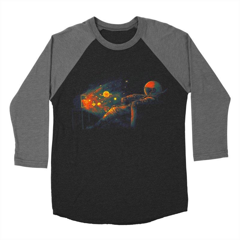 Cosmic Channel Women's Baseball Triblend Longsleeve T-Shirt by nicebleed