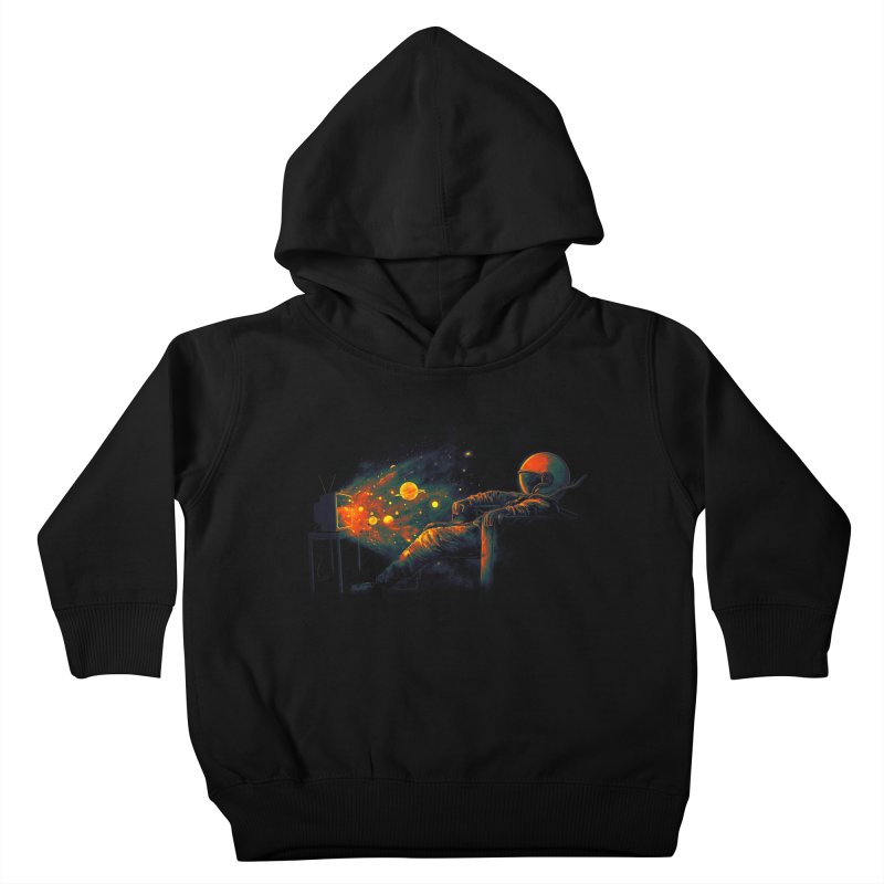 Cosmic Channel Kids Toddler Pullover Hoody by nicebleed