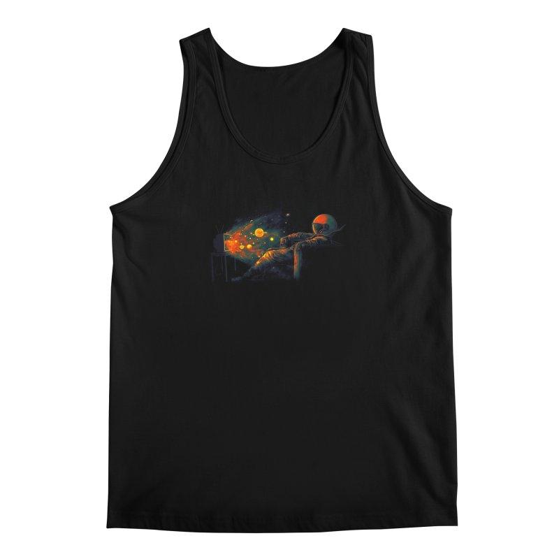 Cosmic Channel Men's Regular Tank by nicebleed