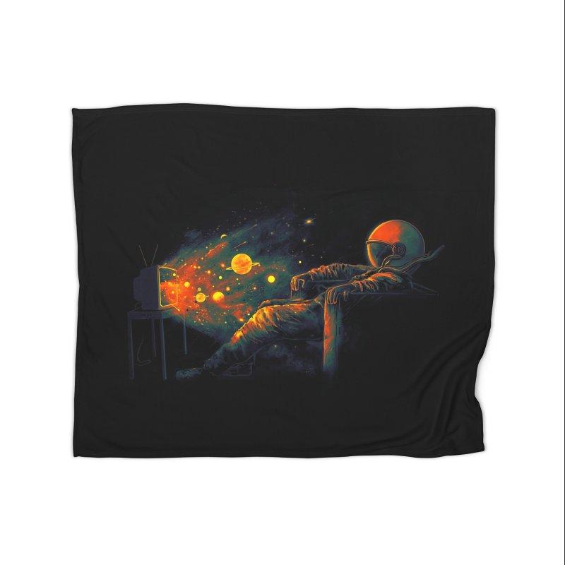 Cosmic Channel Home Blanket by nicebleed