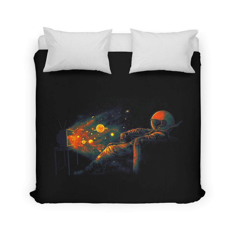 Cosmic Channel Home Duvet by nicebleed