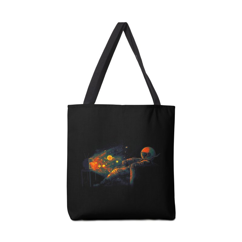 Cosmic Channel Accessories Bag by nicebleed