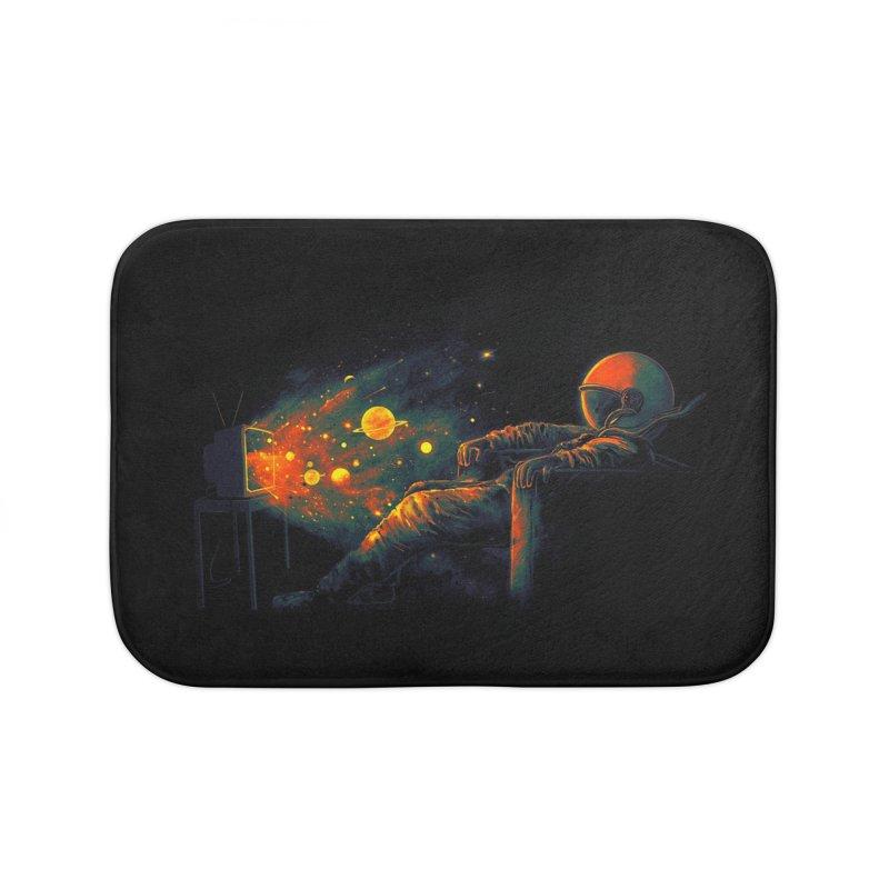 Cosmic Channel Home Bath Mat by nicebleed