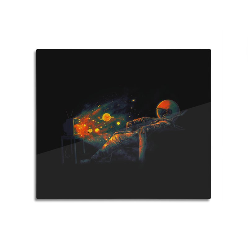 Cosmic Channel Home Mounted Acrylic Print by nicebleed