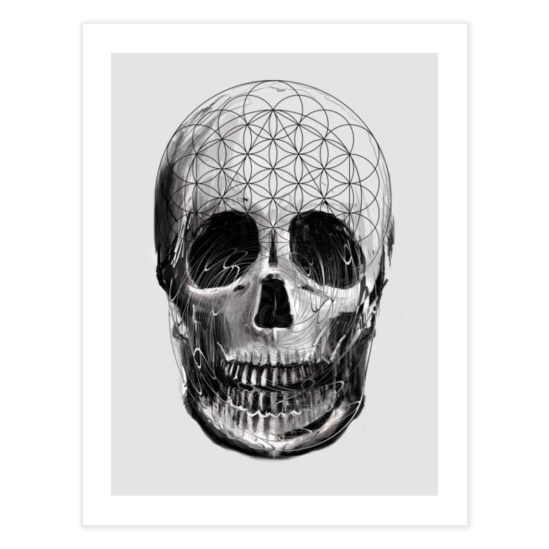Sacred Skull in Fine Art Print by nicebleed
