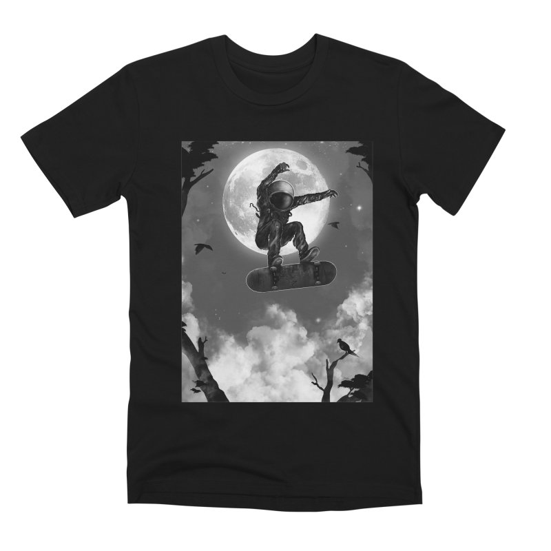 Spaceboarding Men's Premium T-Shirt by nicebleed