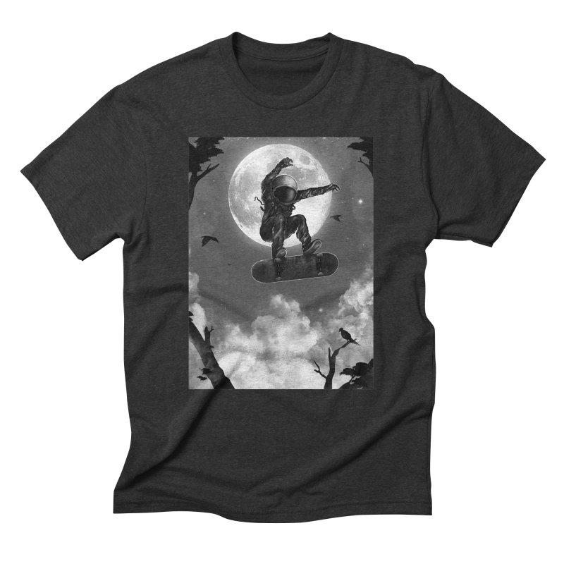 Spaceboarding Men's Triblend T-Shirt by nicebleed
