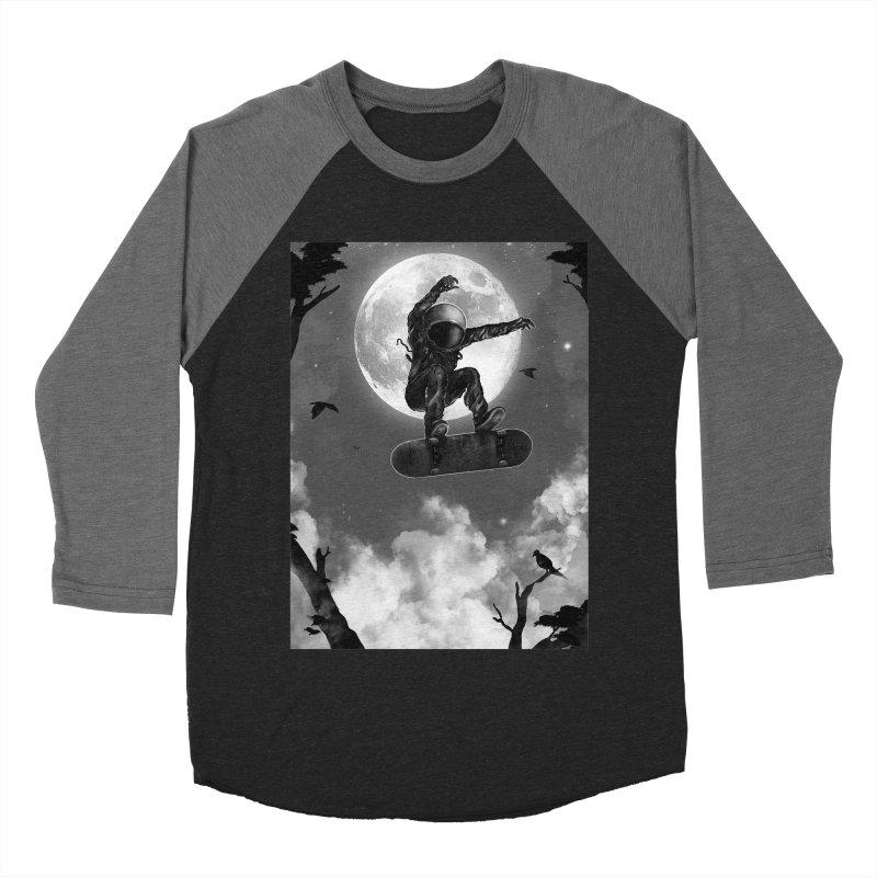 Spaceboarding Men's Baseball Triblend Longsleeve T-Shirt by nicebleed