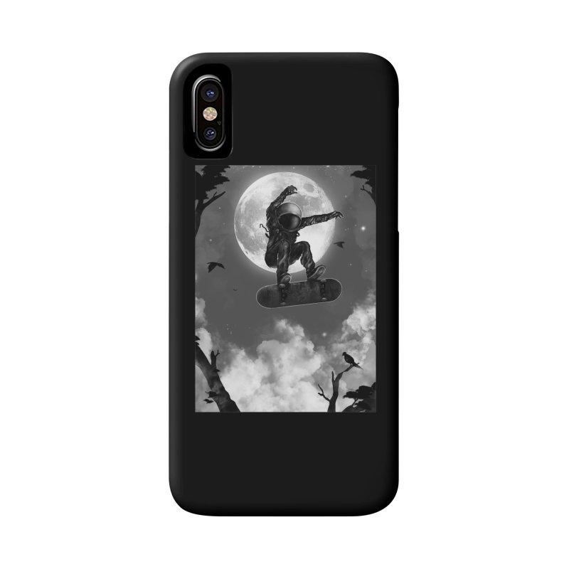 Spaceboarding Accessories Phone Case by nicebleed