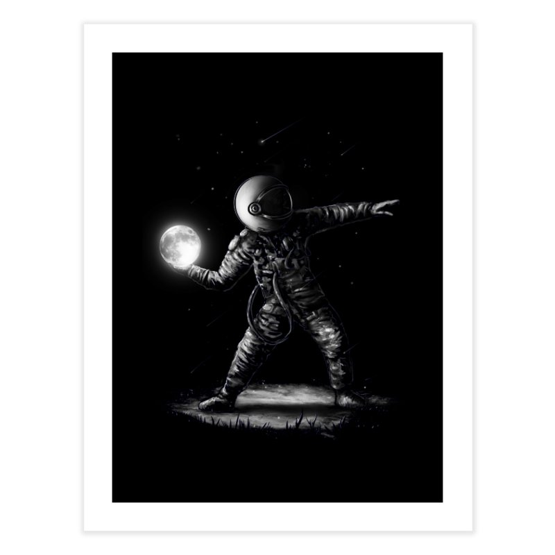 Moonlotov Home Fine Art Print by nicebleed