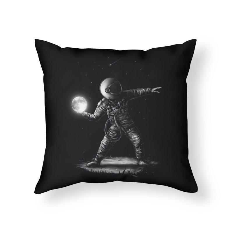 Moonlotov Home Throw Pillow by nicebleed