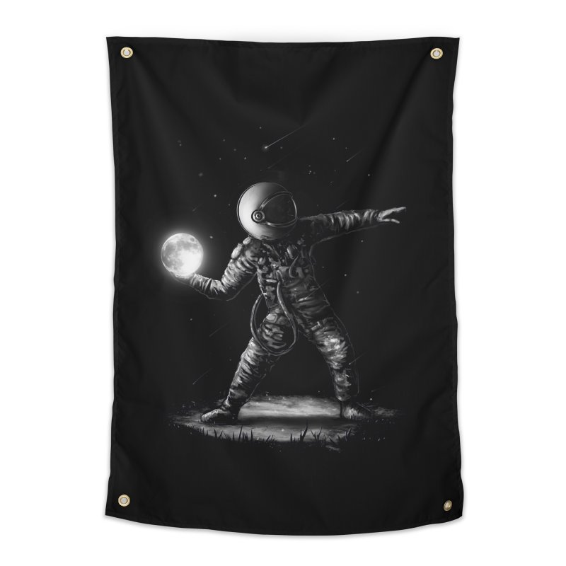 Moonlotov Home Tapestry by nicebleed