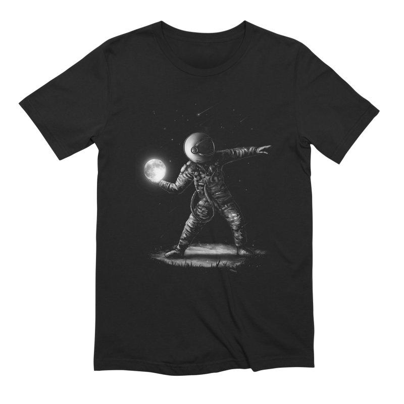 Moonlotov in Men's Extra Soft T-Shirt Black by nicebleed