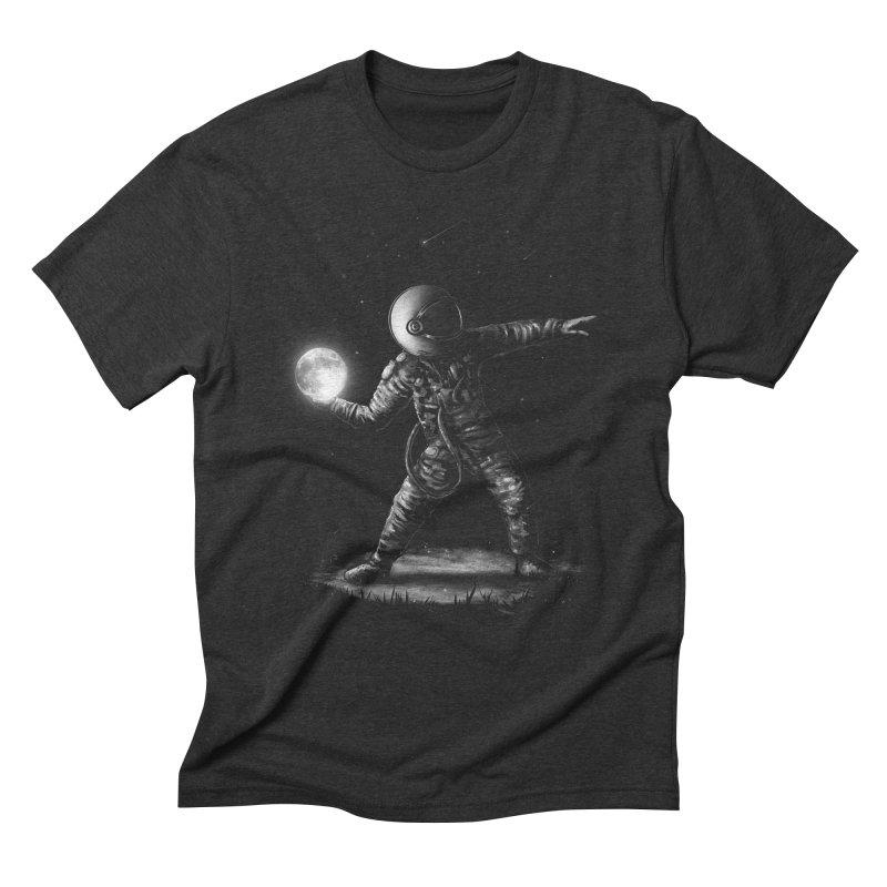 Moonlotov Men's Triblend T-Shirt by nicebleed