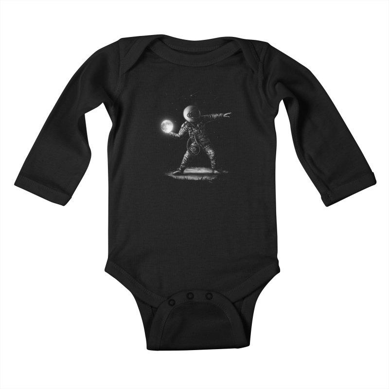Moonlotov Kids Baby Longsleeve Bodysuit by nicebleed
