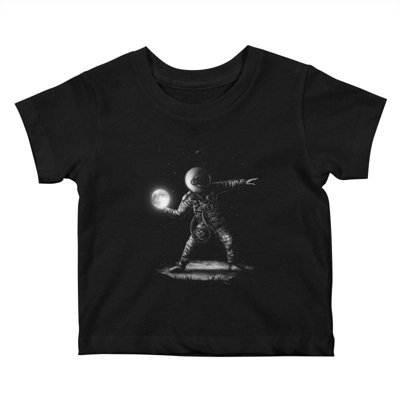 Moonlotov Kids Baby T-Shirt by nicebleed