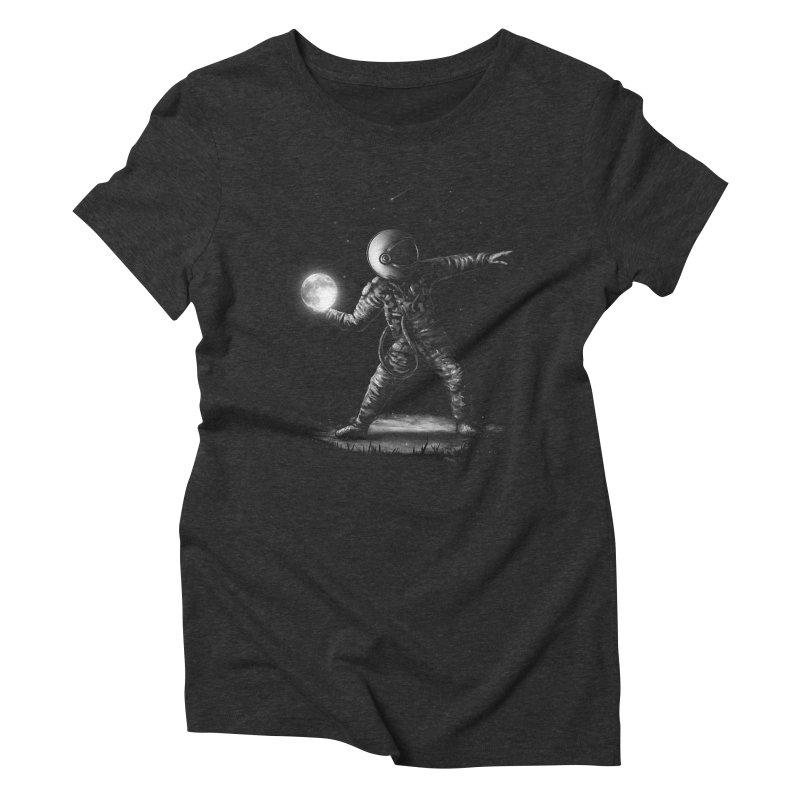 Moonlotov Women's Triblend T-Shirt by nicebleed