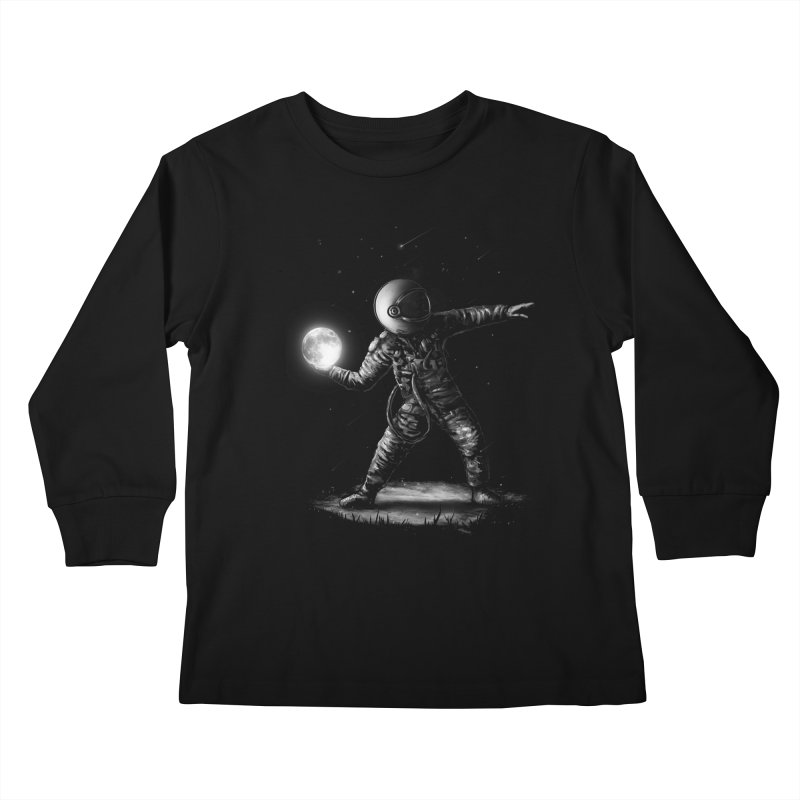 Moonlotov Kids Longsleeve T-Shirt by nicebleed