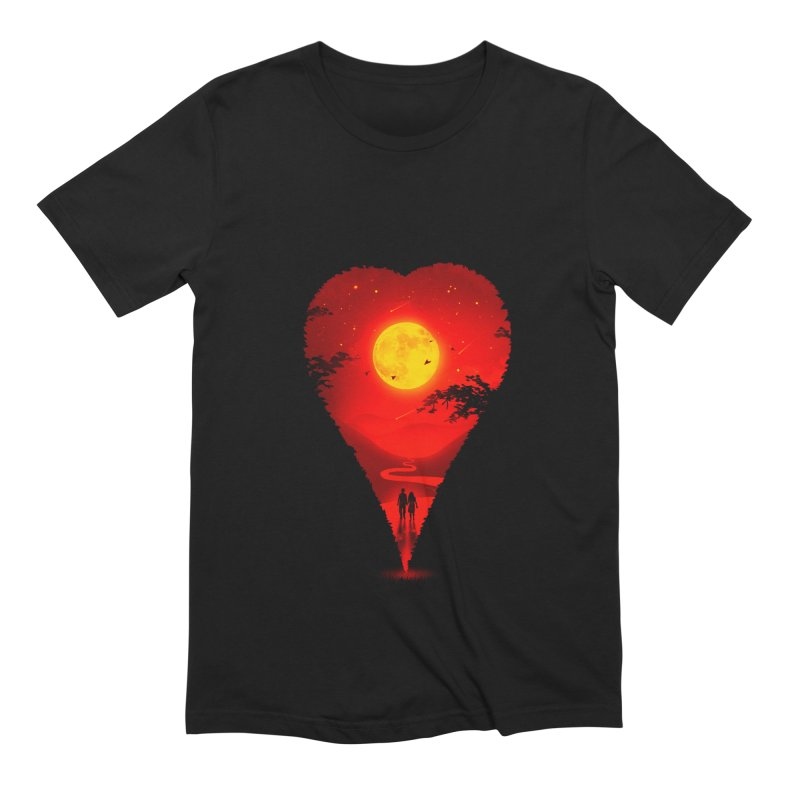 Heart Locator Men's Extra Soft T-Shirt by nicebleed