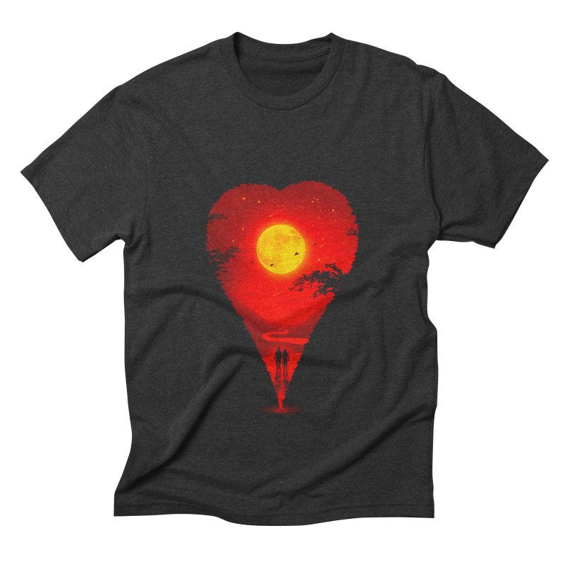 Heart Locator Men's Triblend T-Shirt by nicebleed