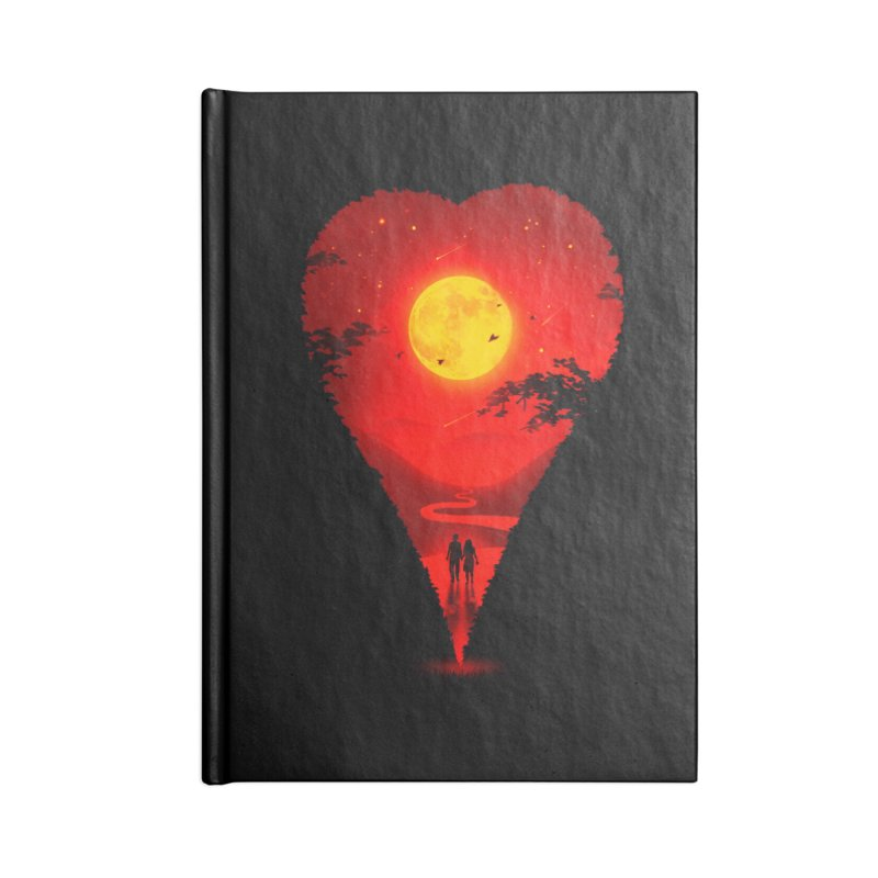 Heart Locator Accessories Notebook by nicebleed