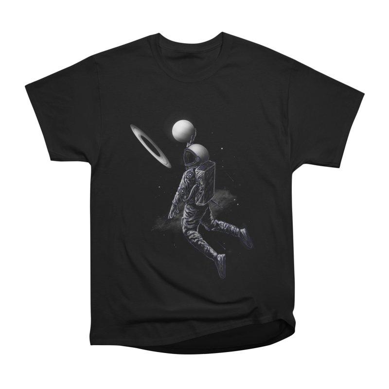 Saturn Dunk Men's Heavyweight T-Shirt by nicebleed