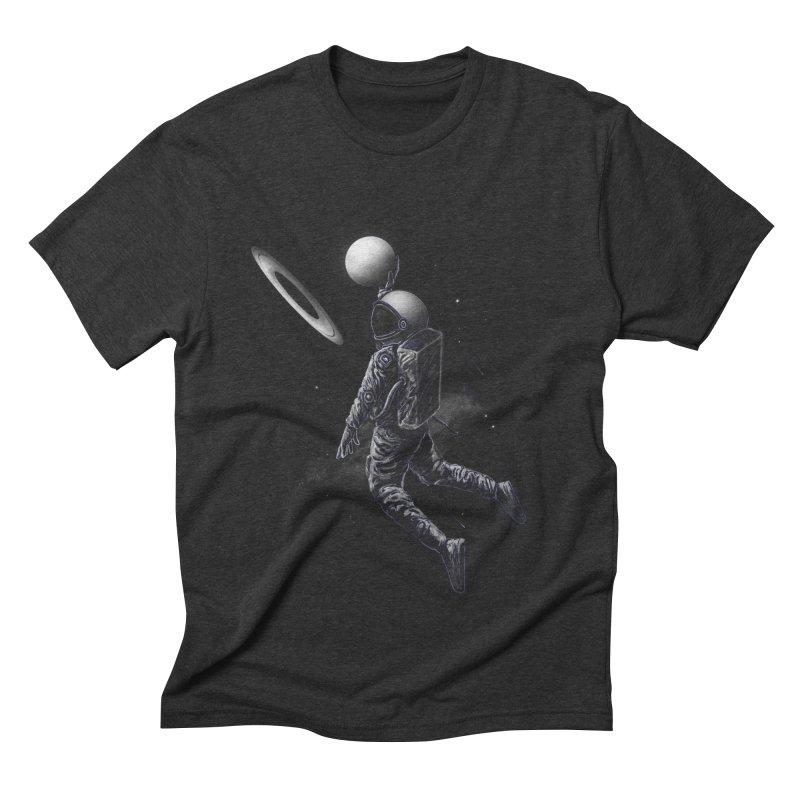 Saturn Dunk Men's Triblend T-Shirt by nicebleed