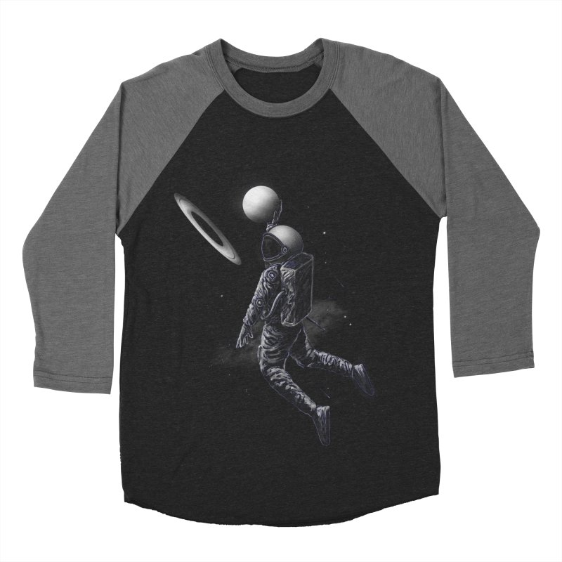 Saturn Dunk Men's Baseball Triblend Longsleeve T-Shirt by nicebleed