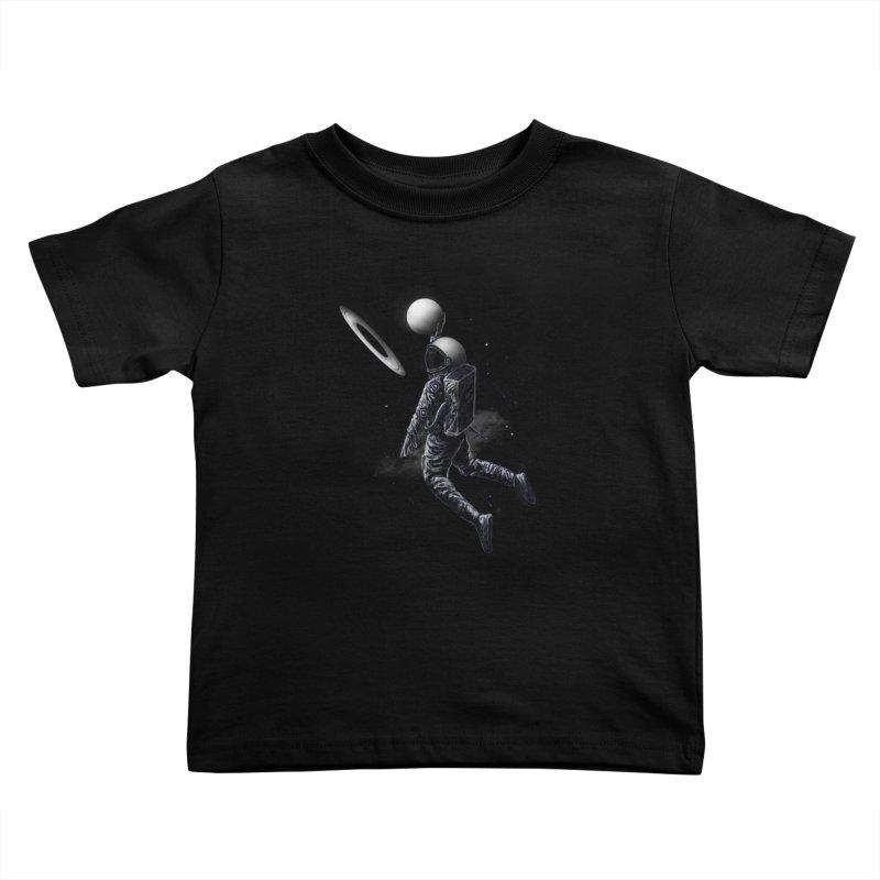 Saturn Dunk Kids Toddler T-Shirt by nicebleed