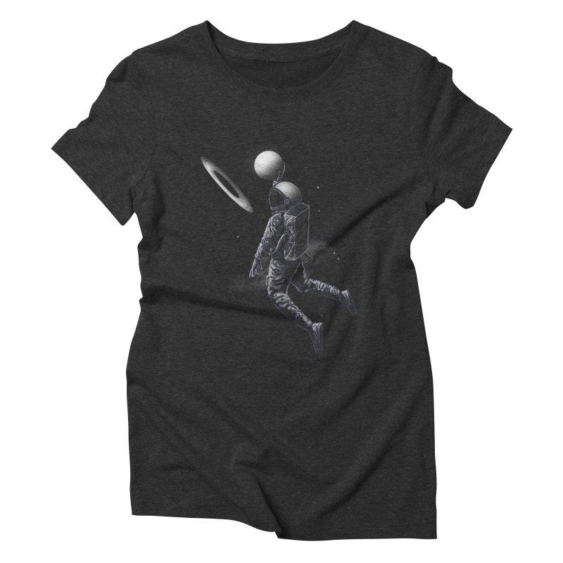 Saturn Dunk Women's Triblend T-Shirt by nicebleed