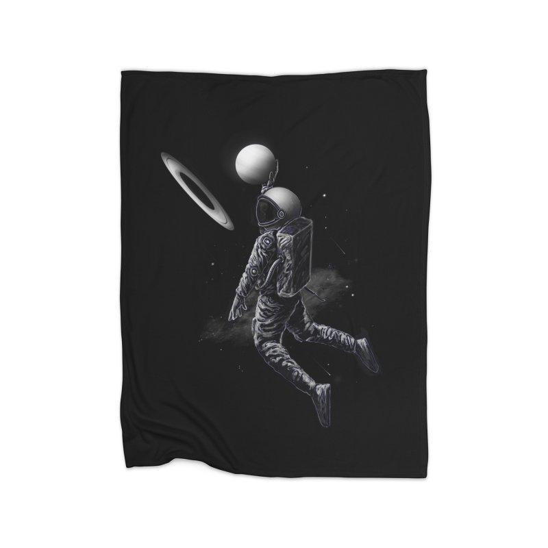 Saturn Dunk Home Blanket by nicebleed