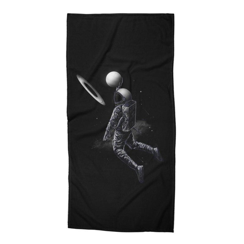 Saturn Dunk Accessories Beach Towel by nicebleed