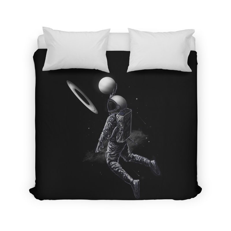 Saturn Dunk Home Duvet by nicebleed
