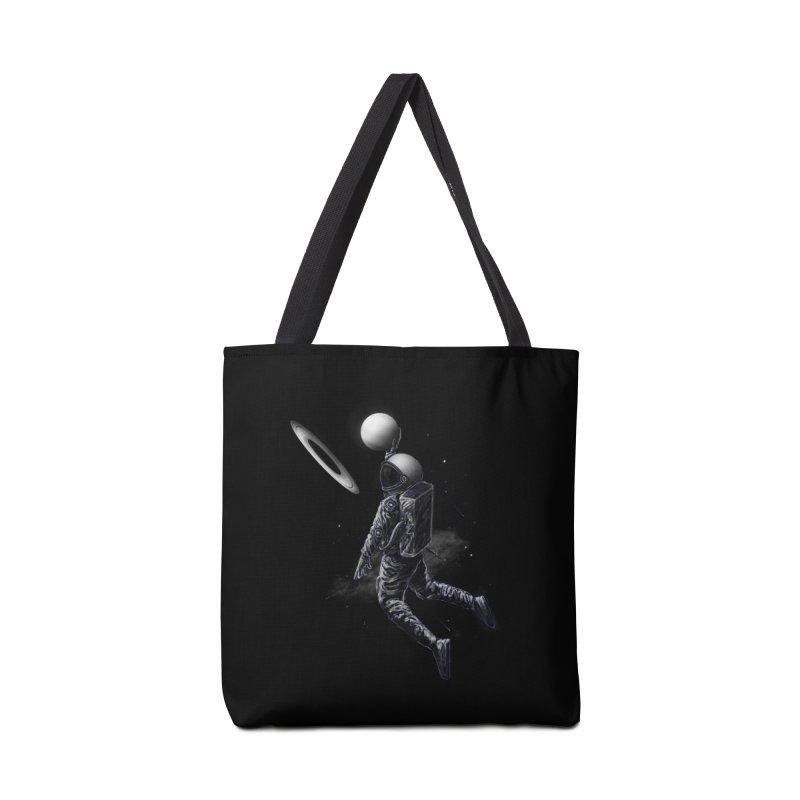 Saturn Dunk Accessories Tote Bag Bag by nicebleed