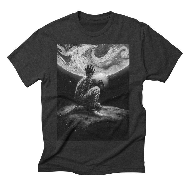 Atlas Men's Triblend T-Shirt by nicebleed