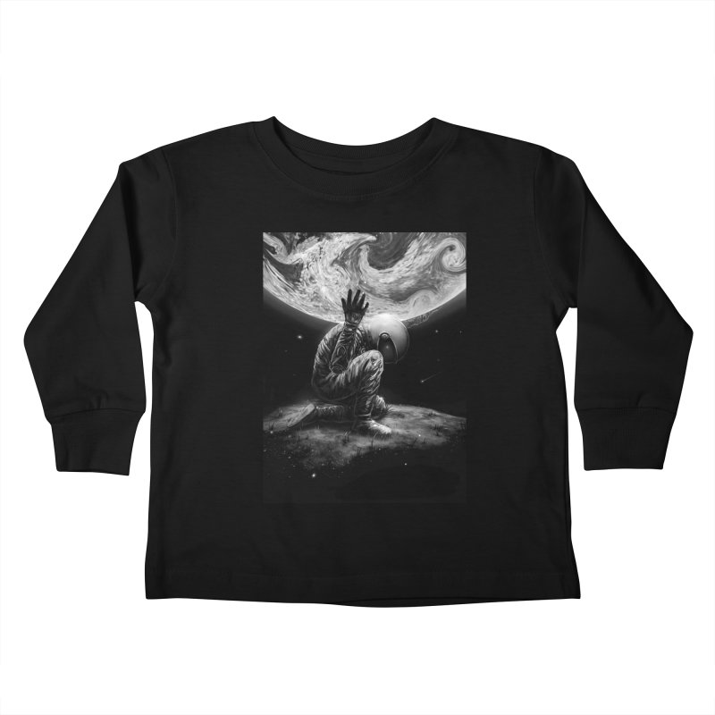 Atlas Kids Toddler Longsleeve T-Shirt by nicebleed