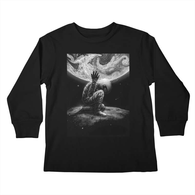 Atlas Kids Longsleeve T-Shirt by nicebleed